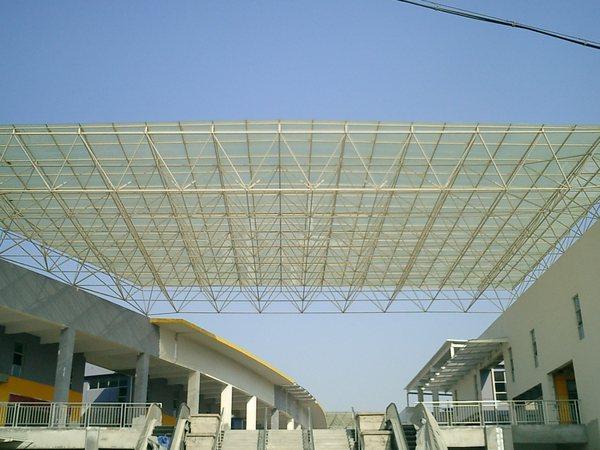 天津网架钢结构厂房